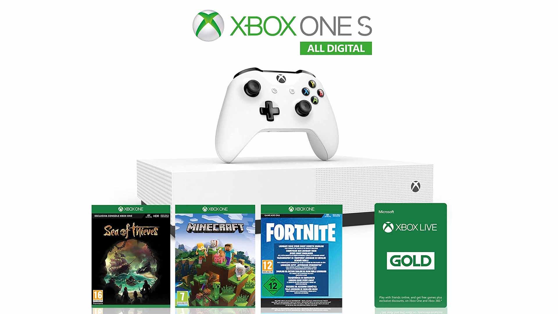 Xbox One S offerta: mai vista a questo prezzo su Amazon thumbnail