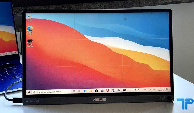 Recensione ASUS ZenScreen Go: tra smart working e mobilità