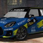 Aci rally italia talent suzuki swift sport hybrid