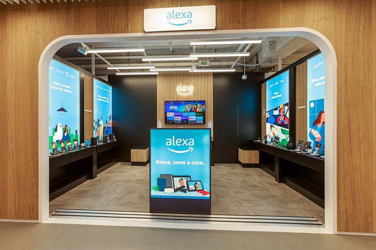 Amazon inaugura il nuovo spazio Alexa al Tech Village di MediaWorld thumbnail