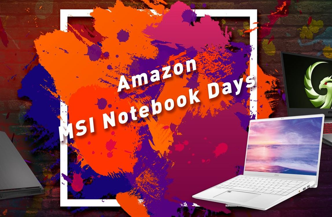Amazon MSI Notebook Days, ecco i laptop per gamer a prezzi vantaggiosi thumbnail
