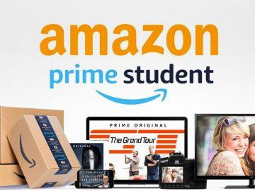 Amazon Prime Student sconto 10 euro