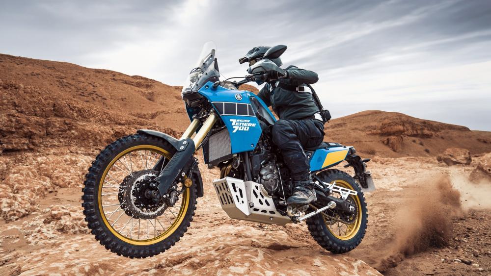 Yamaha Ténéré 700 Rally Edition, asfalto o terra nulla cambia thumbnail