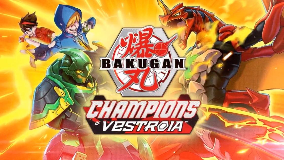 Bakugan: Campioni di Vestroia, il nuovo gioco di ruolo uscirà a novembre thumbnail