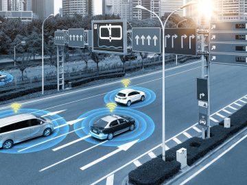 C-V2X test smart road