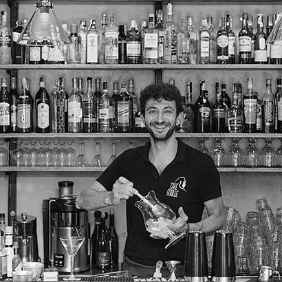 Emanuele Coronini, proprietario del Cafè Gorille