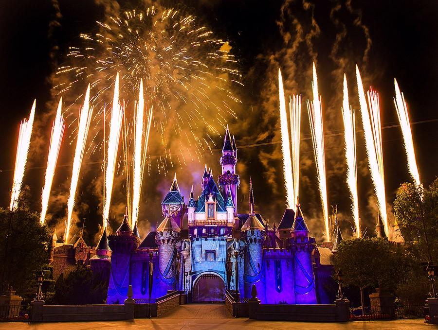 Disneyland fuochi dartificio