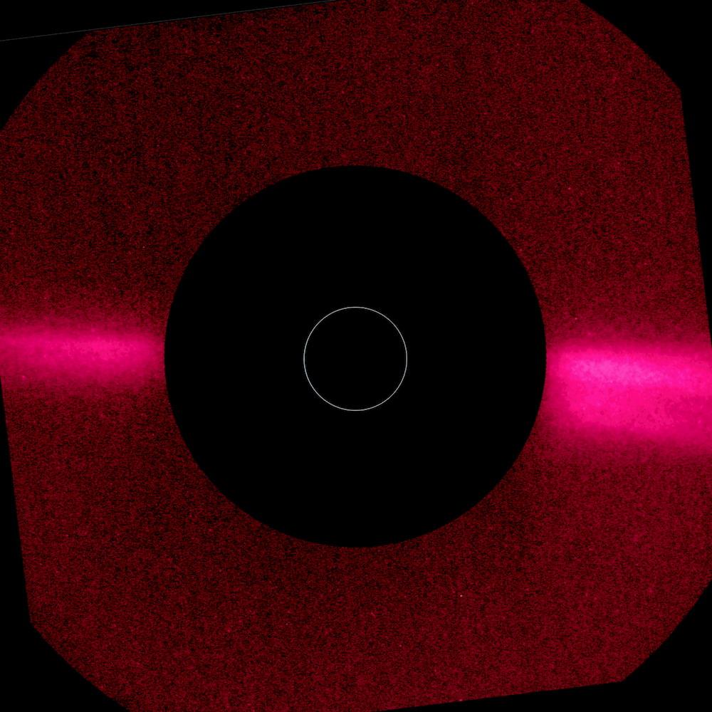 ESA Solar Orbiter Metis corona ultravioletto