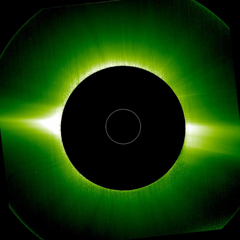 ESA Solar Orbiter Metis corona visibile