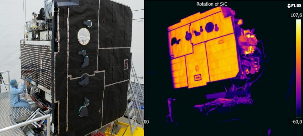 ESA Solar Orbiter scudo termico