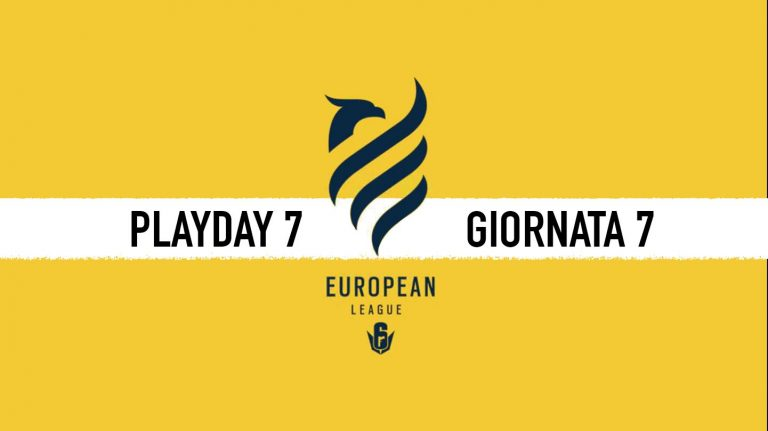 European league di Rainbow Six day 7