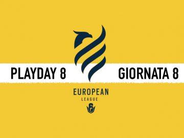 European league di Rainbow Six day 8