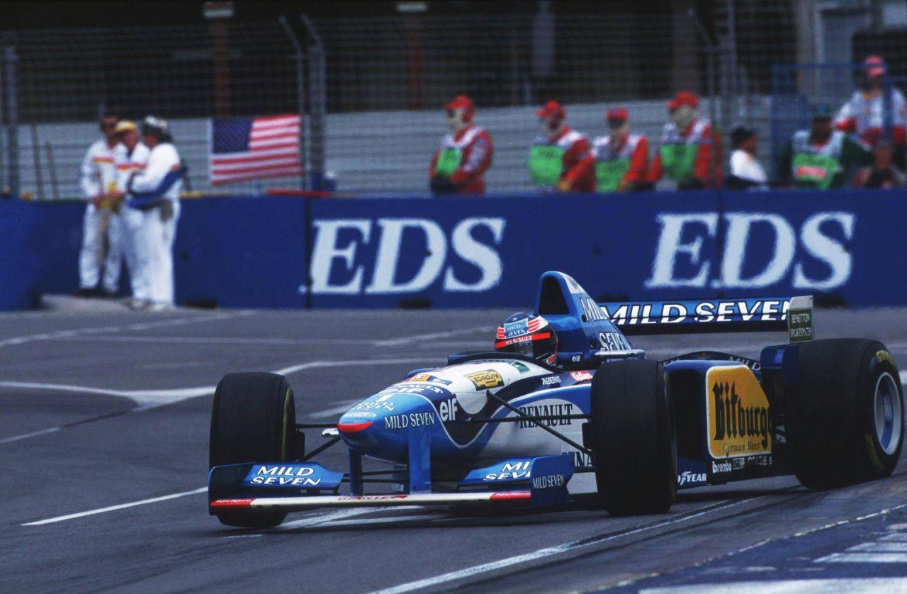 F1 2020 benetton B195