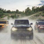Ford Bronco nuova gamma