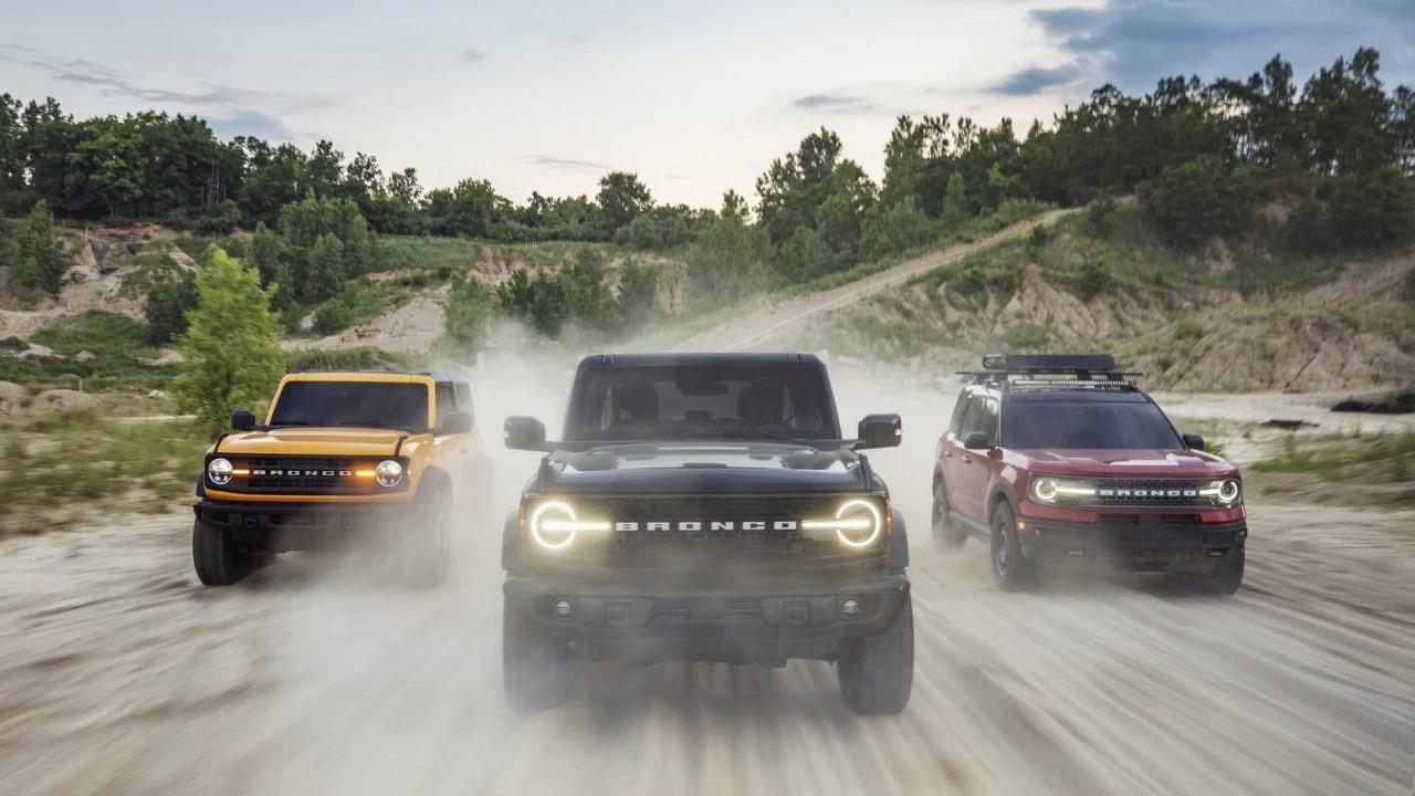 Ford presenta la nuova gamma di fuoristrada Ford Bronco thumbnail