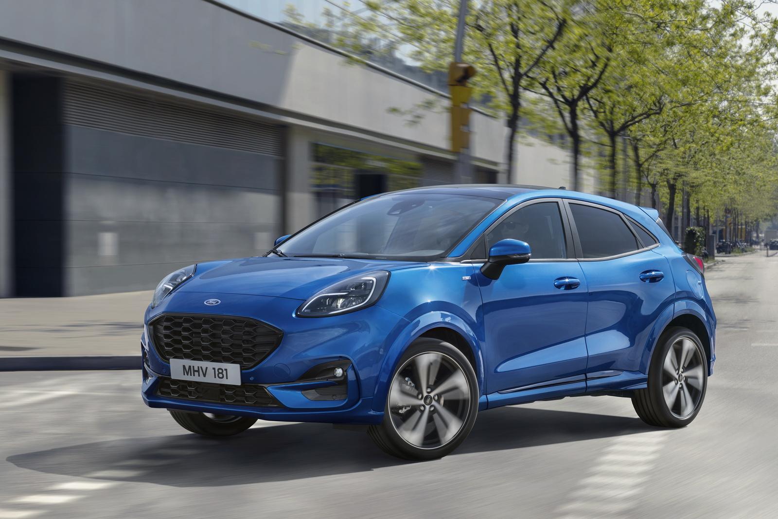 Ford Puma è il veicolo ibrido più venduto in Italia nel 2020 thumbnail