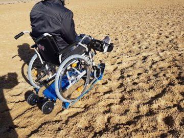 Freedom Trax cingolato sedia a rotelle