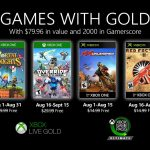 Games With Gold agosto 2020