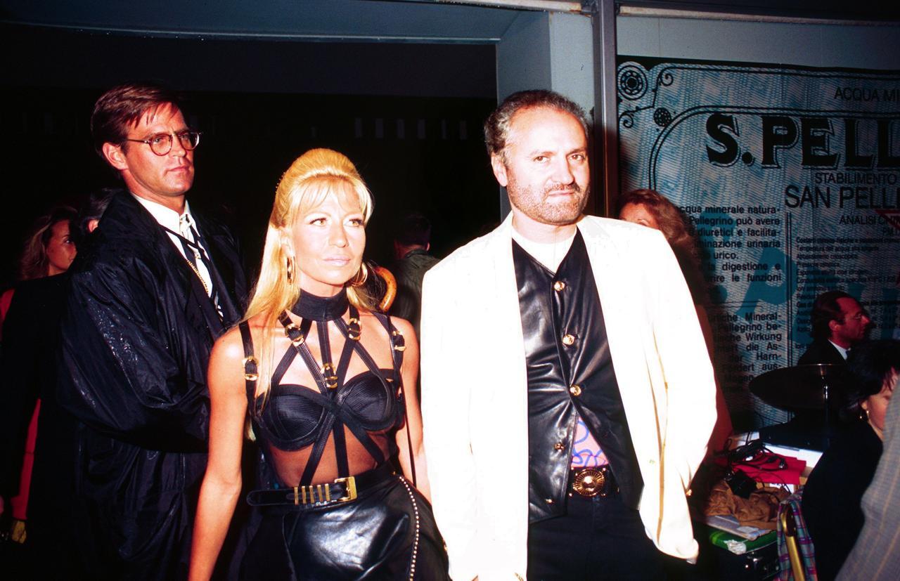 Gianni-Versace-Donatella-1992-Tech-Princess