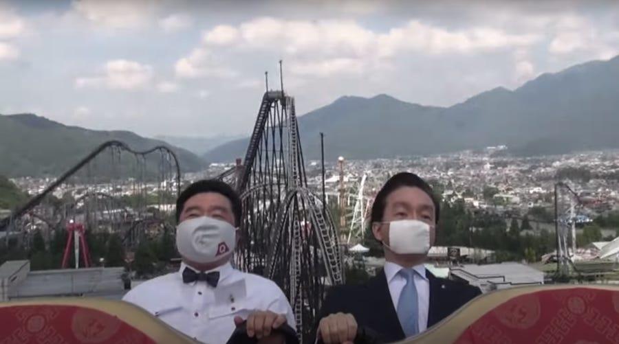 Giappone vs Covid-19, vietato urlare sulle montagne russe thumbnail