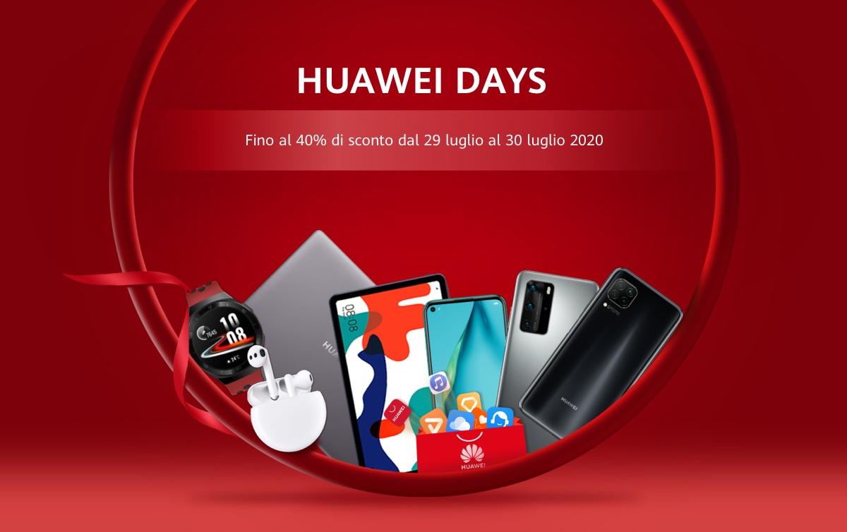 Huawei Days, due giorni di promozioni incredibili da non perdere thumbnail
