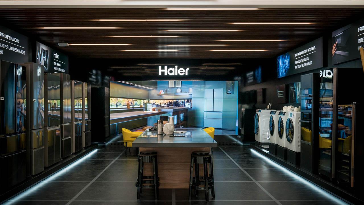 Haier inaugura il suo spazio all'interno del MediaWorld Tech Village thumbnail