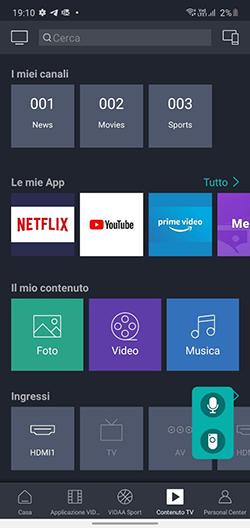 Hisense A7500F recensione app