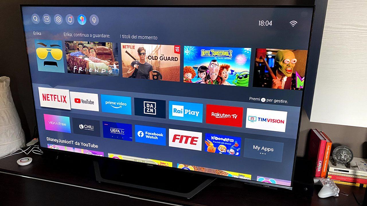 Recensione Hisense A7500F: la smart TV per tutti thumbnail