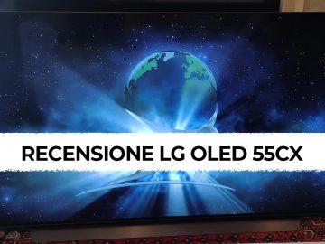 LG OLED 55CX recensione