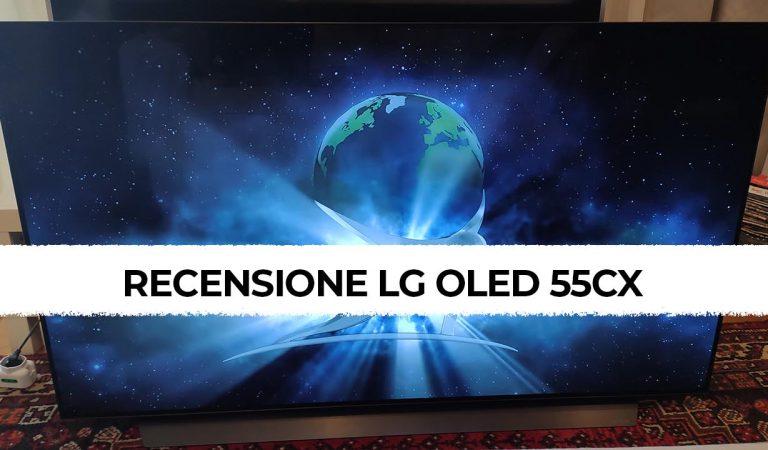 LG OLED CX55 recensione: sottile, elegante e performante