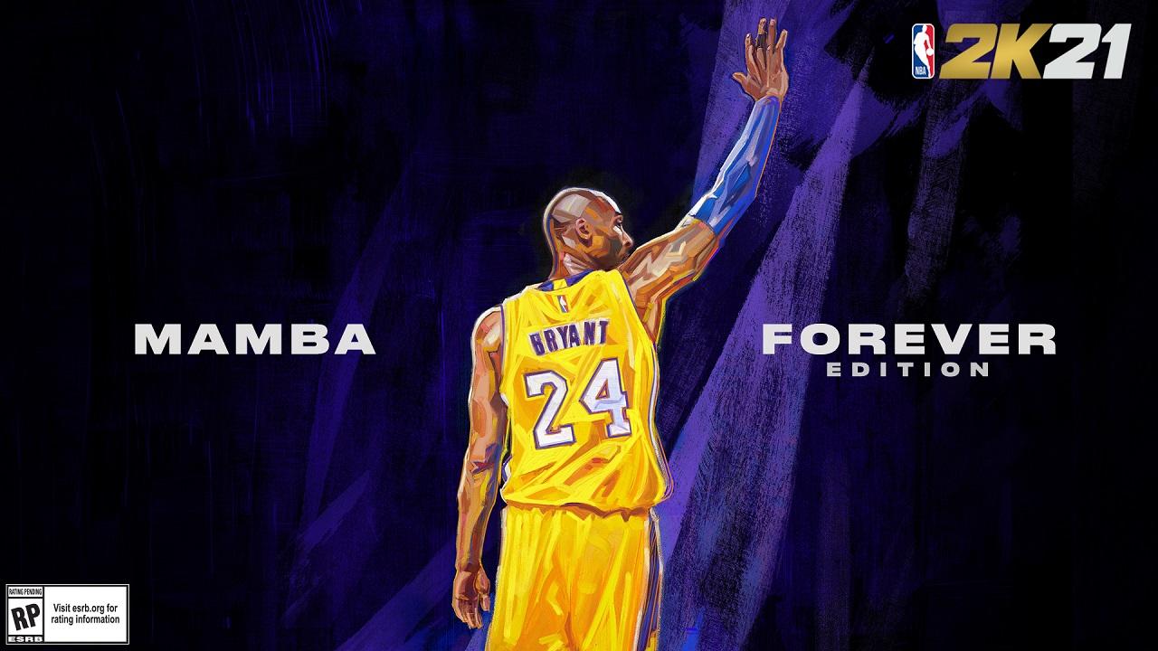 Kobe Bryant in copertina per la Mamba Forever Edition di NBA 2K21 thumbnail