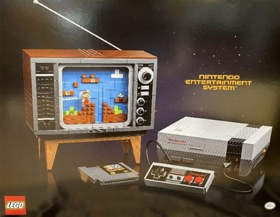 LEGO rilascerà un set Nintendo NES: console e TV con Mario a 8-bit thumbnail