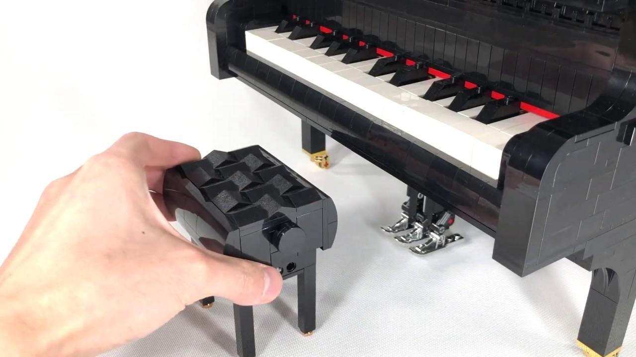 LEGO Ideas Grand Piano: il nuovo progetto entusiasmante thumbnail