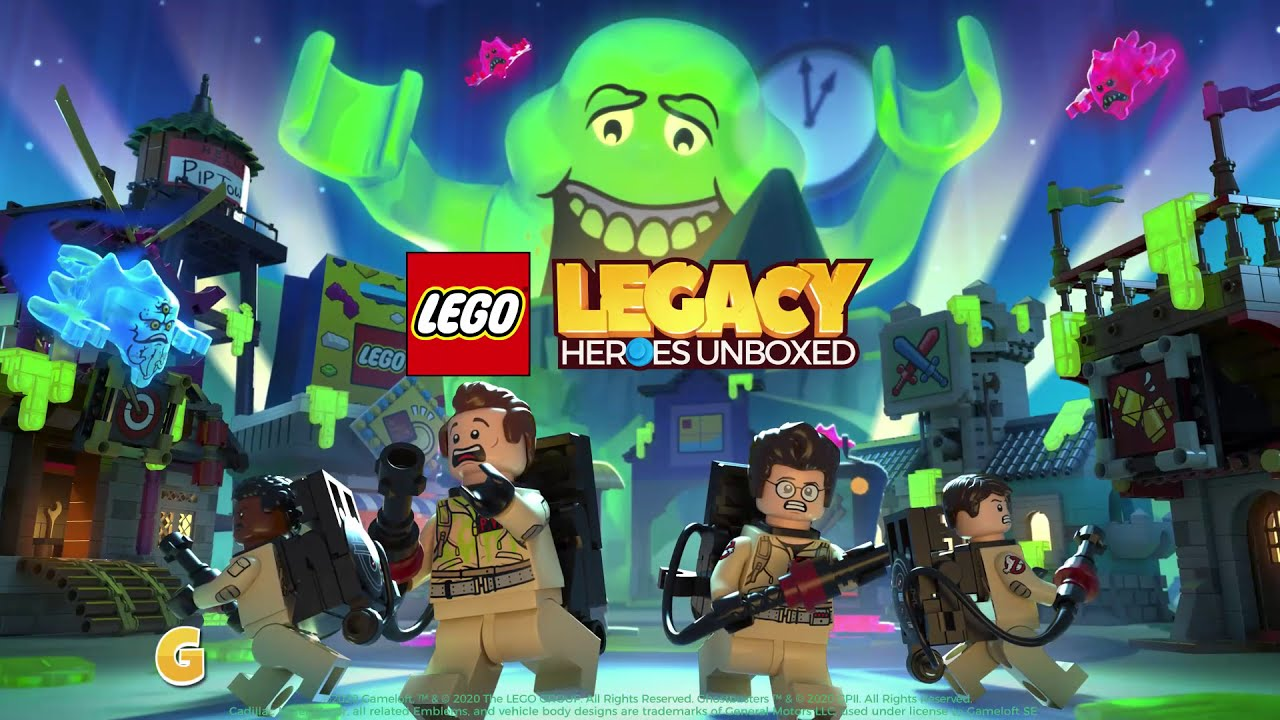 Lego Legacy: Heroes Unboxed, arrivano i Ghostbusters thumbnail
