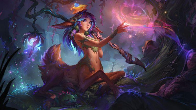 Lillia-League-of-Legends-campione-Tech-Princess