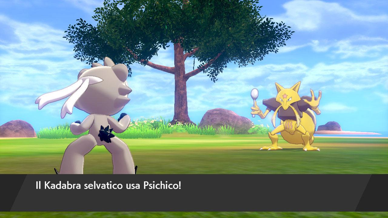 L'isola solitaria dell'armatura Pokémon
