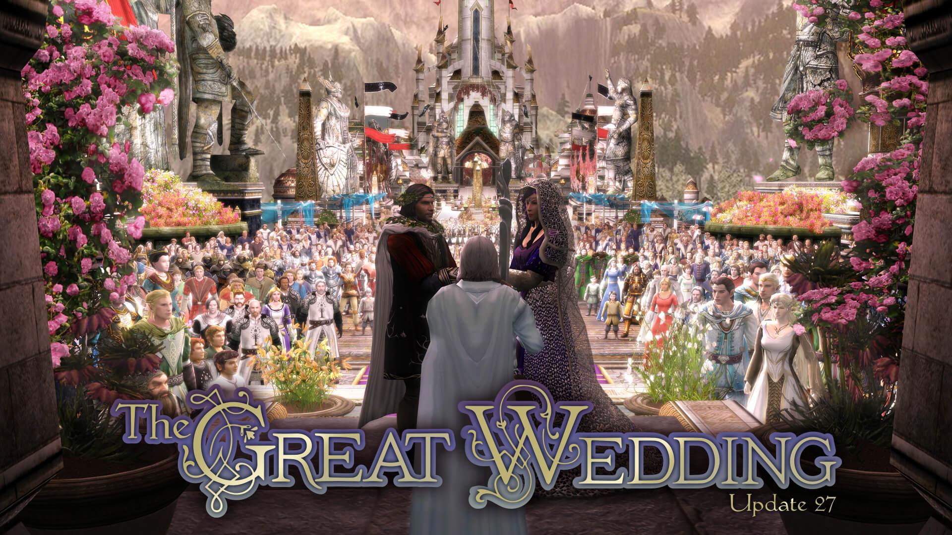Lord Of The Rings Online celebra il matrimonio di Aragorn e Arwen thumbnail