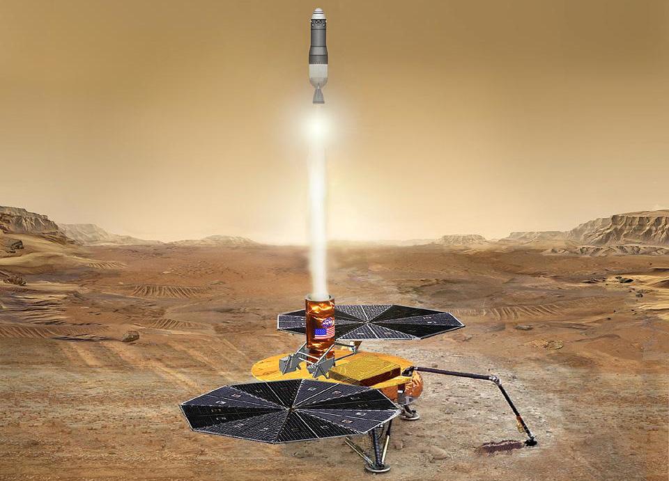 MSR mars 2020 perseverance NASA rover marte ritagliata - NASA JPL
