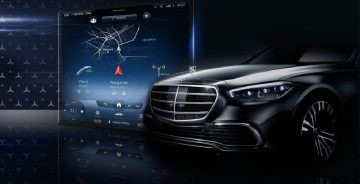 Mercedes serie s interni