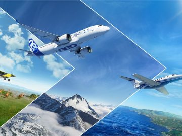 Microsoft Flight Simulator uscita