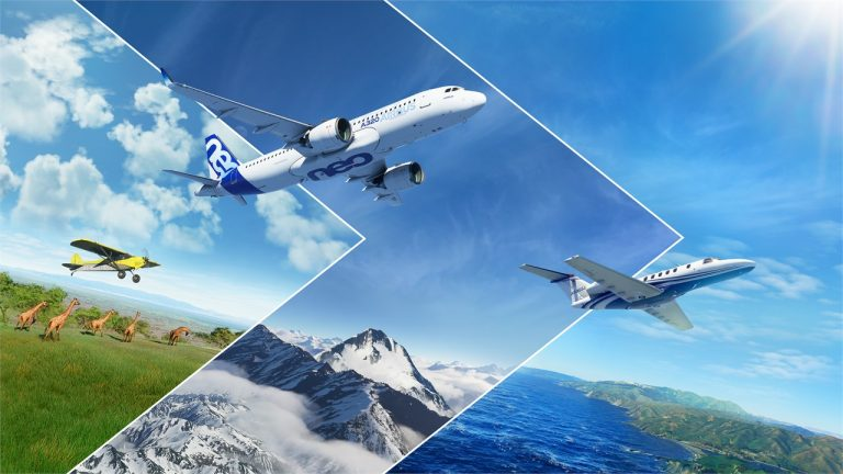 Microsoft Flight Simulator uscita
