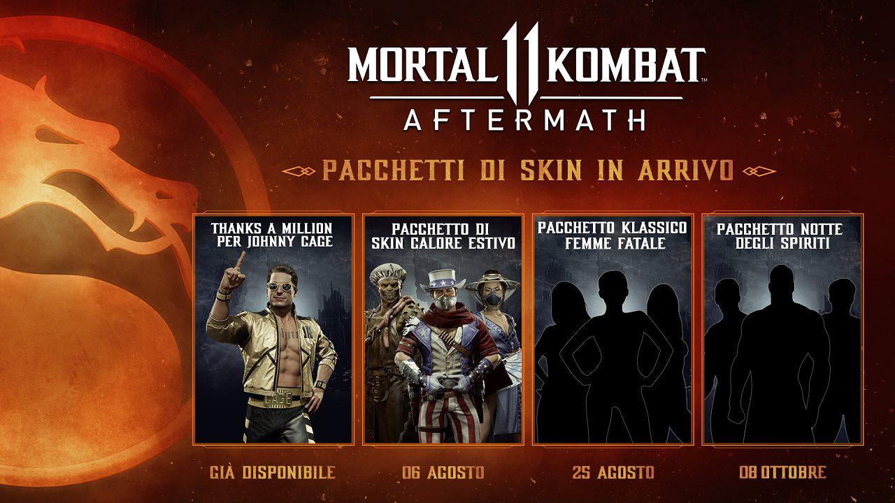 Mortal Kombat 11: Aftermath, arriva il primo pacchetto di skin thumbnail