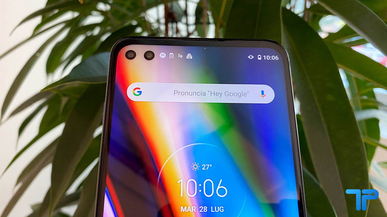 Motorola Moto G 5G Plus recensione display
