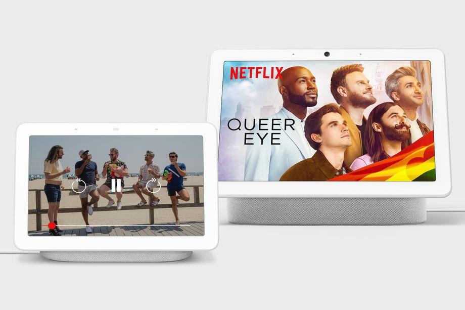 Netflix è ora disponibile su Google Nest Hub e Nest Hub Max thumbnail