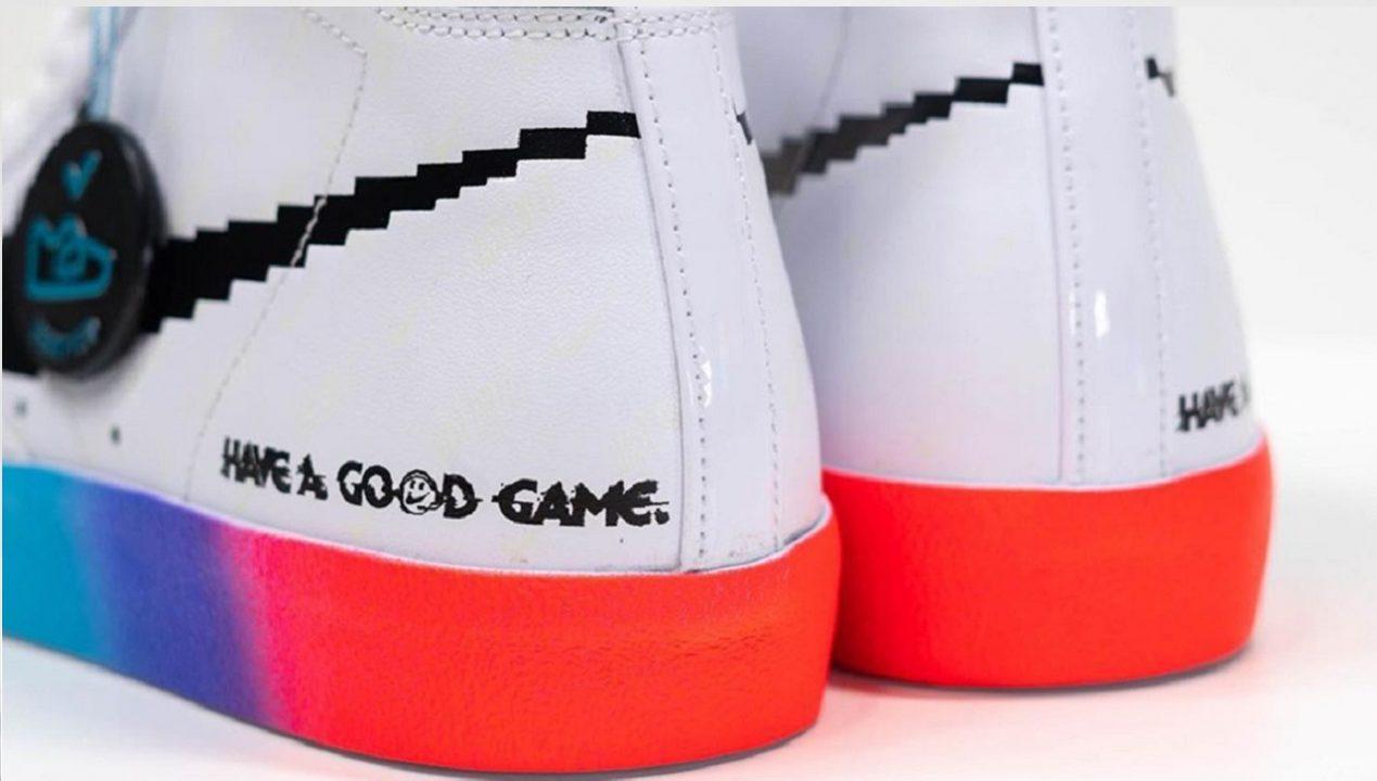 Le nuove Nike Blazer Mid 77 sono un tributo ai gamer thumbnail