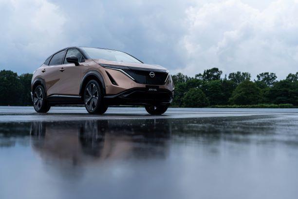 Nissan presenta Ariya, crossover coupé 100% elettrico thumbnail