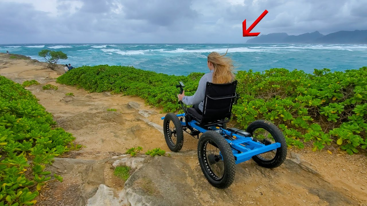 La sedia a rotelle elettrica per una maggiore mobilità thumbnail