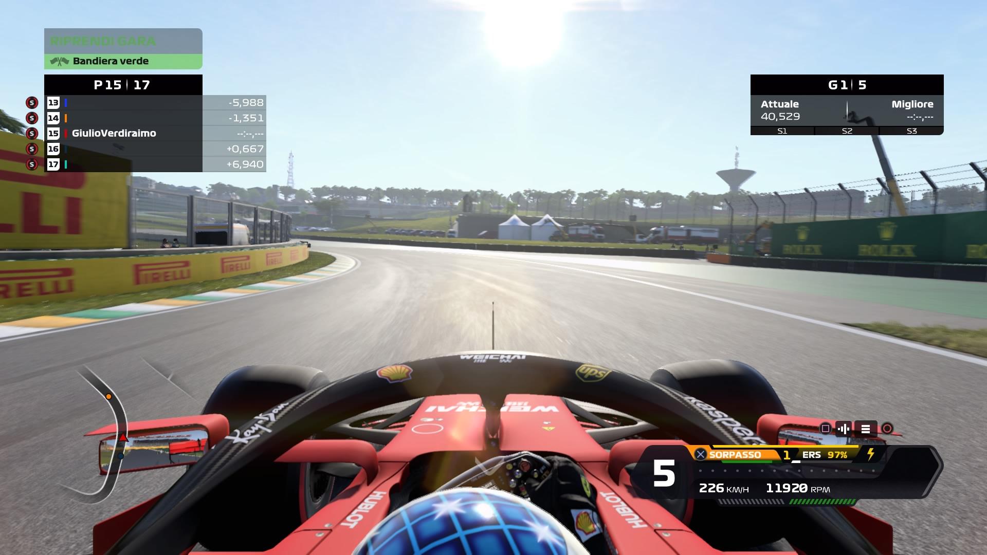 F1 2020 lobby online
