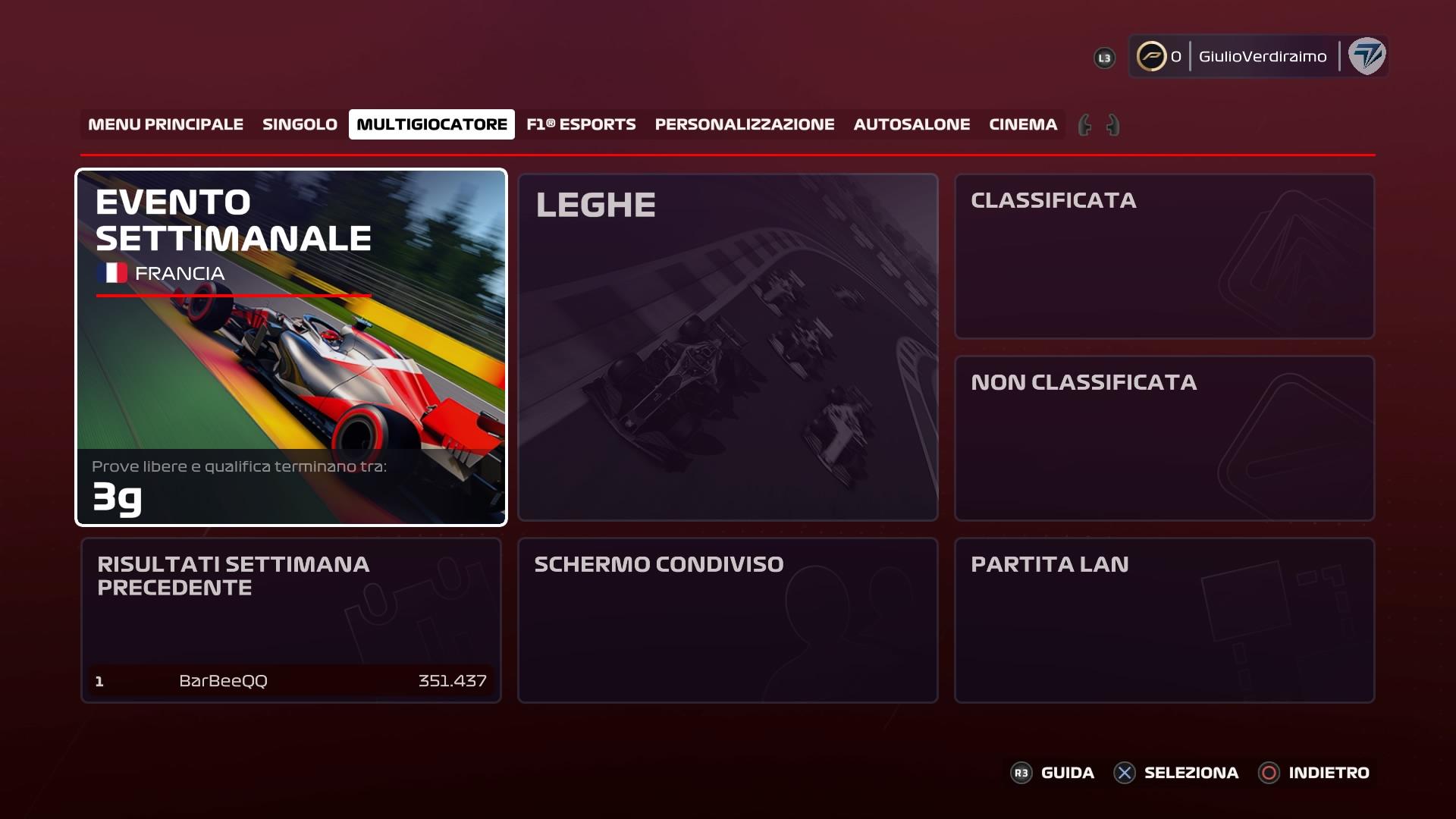 F1 2020 multigiocatore