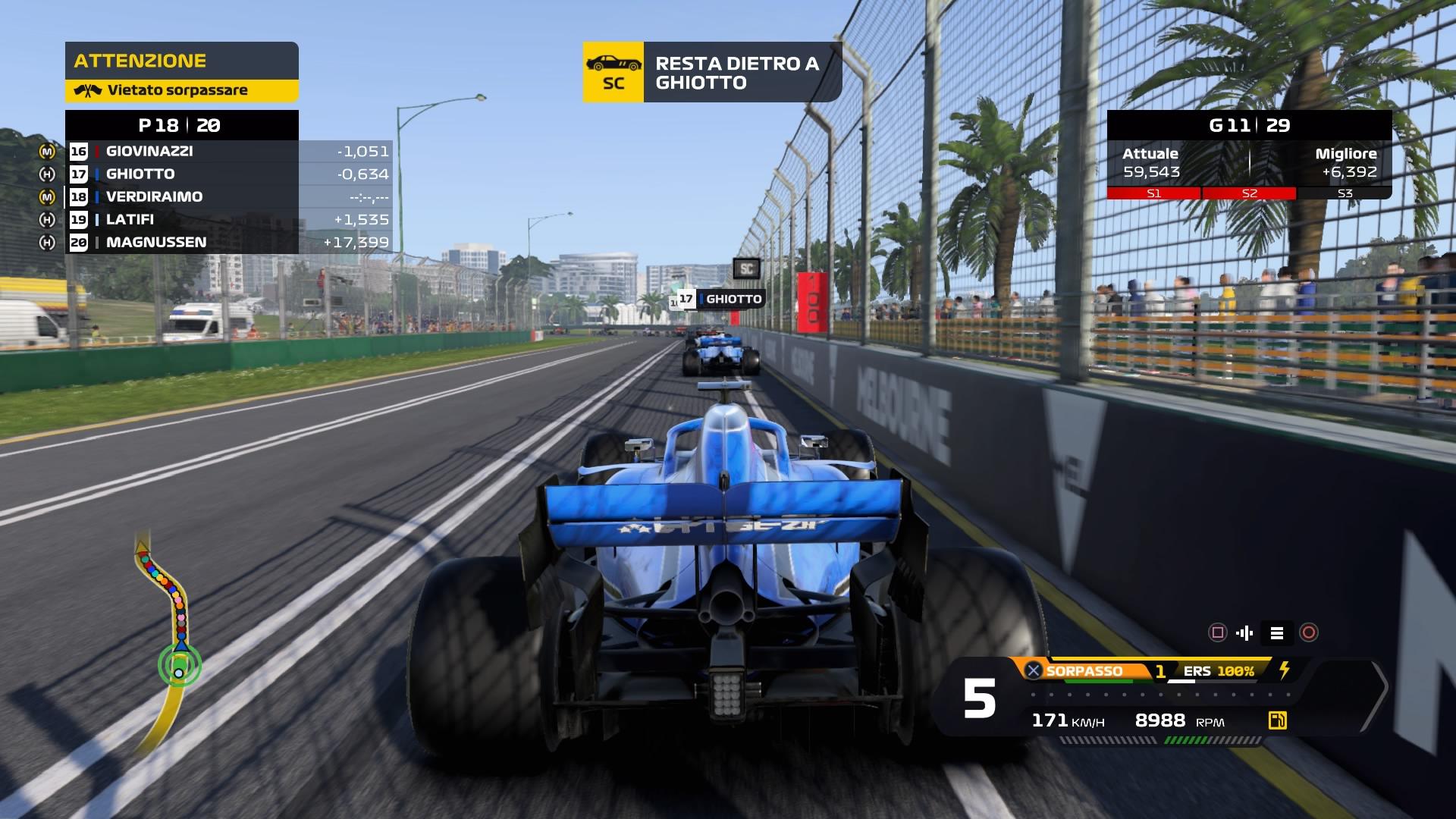 F1® 2020 safety car